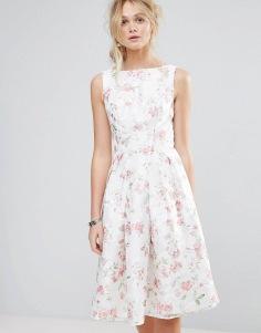 Chi Chi London - Floral Midi Dress