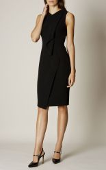 Karen Millen - Black Ruffle Dress