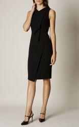 Karen Millen - Black Ruffle Dress