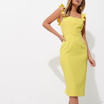 River Island - Yellow Midi